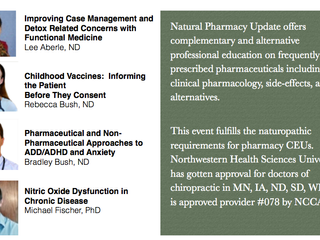 Natural Pharmacy Update Event