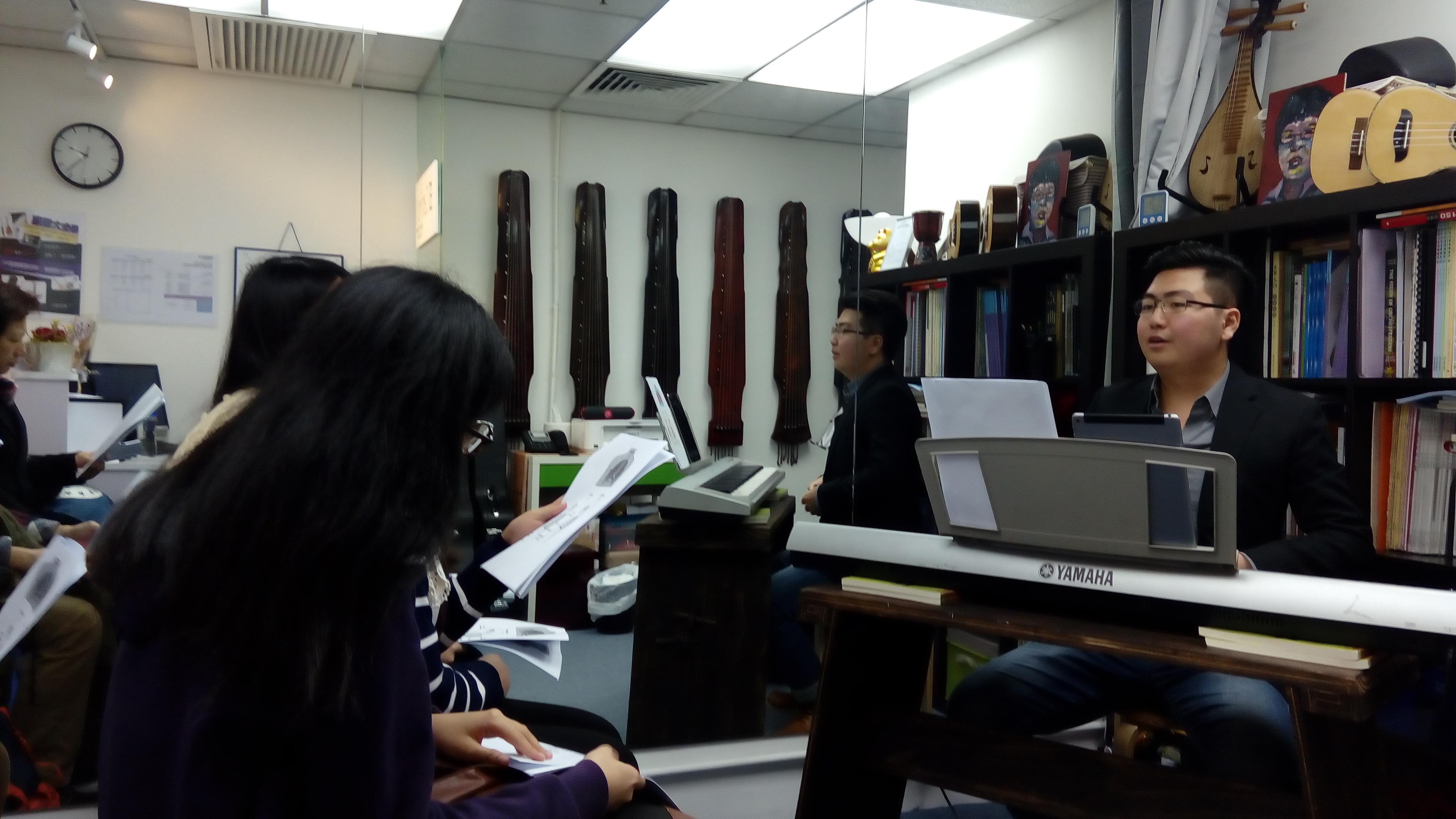 聲樂工作坊主講嘉賓Wesley Lam