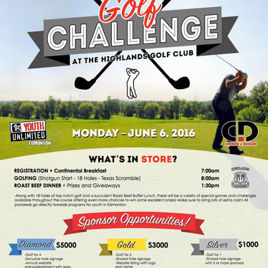 Golf Tournament Poster