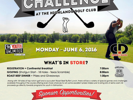 2016 YOUTH UNLIMITED GOLF CHALLENGE