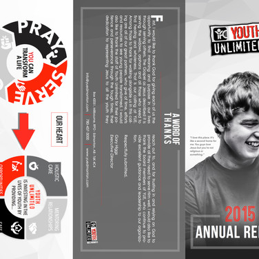 Annual Report Tri-fold Brochure