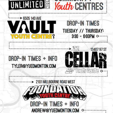 Youth Centre Handbill