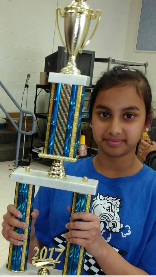 Srimayi won the McNair K-8!