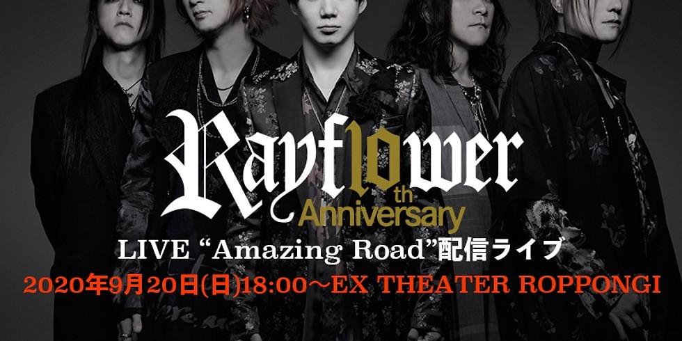 """Rayflower 10th Anniversary LIVE  """"Amazing Road"""" 無観客ライブ"""