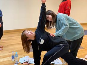 Feel yoga インストラクター養成講座終了