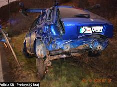 S autom padal 10 metrov! Hrozivá NEHODA v okrese Stará Ľubovňa