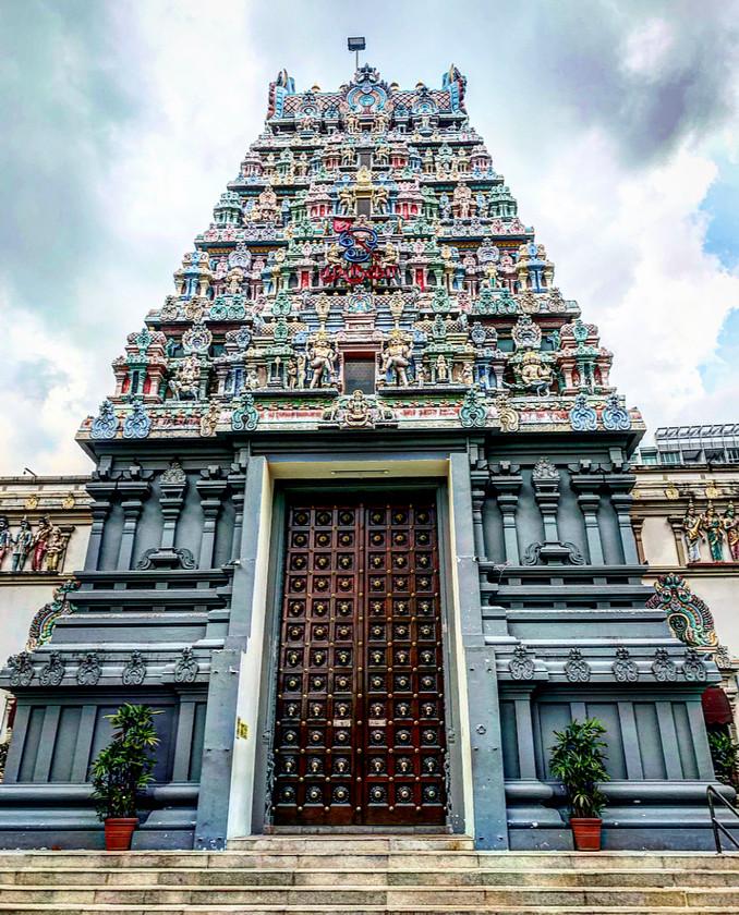 Sri Thendayuthapani Temple (also known as Chettiars' Temple)