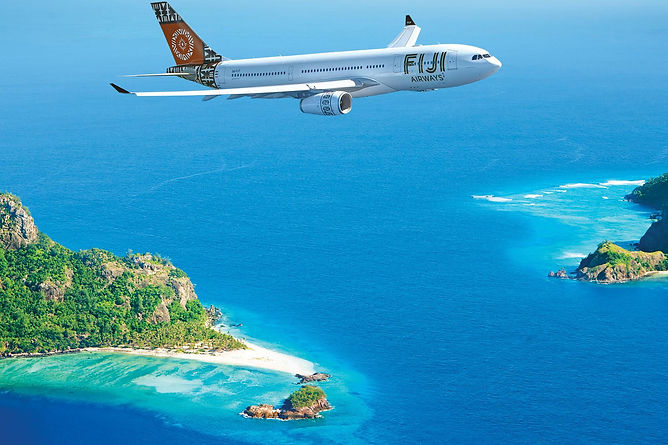 fiji flight