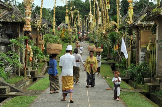 This village is a place where you will learn more about the authentic Balinese village, housings, culture and get to know more about how Balinese people live in their traditional community.