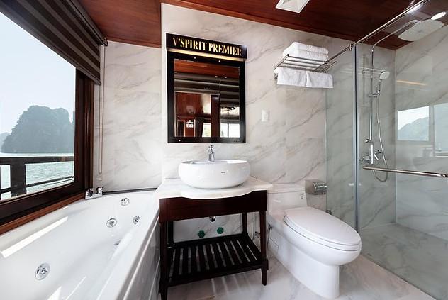 Private ensuite bathrooms