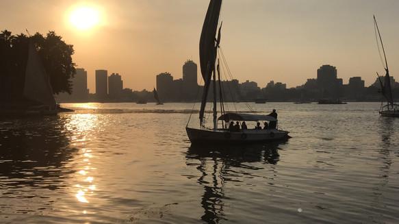 Nile River, Cairo Egypt