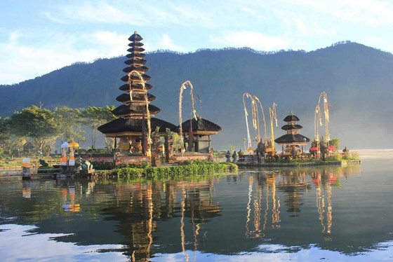View and learn about the floating temple.