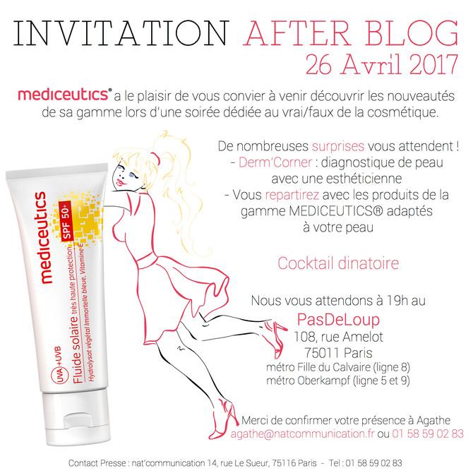 Invitation after blog Mediceutics
