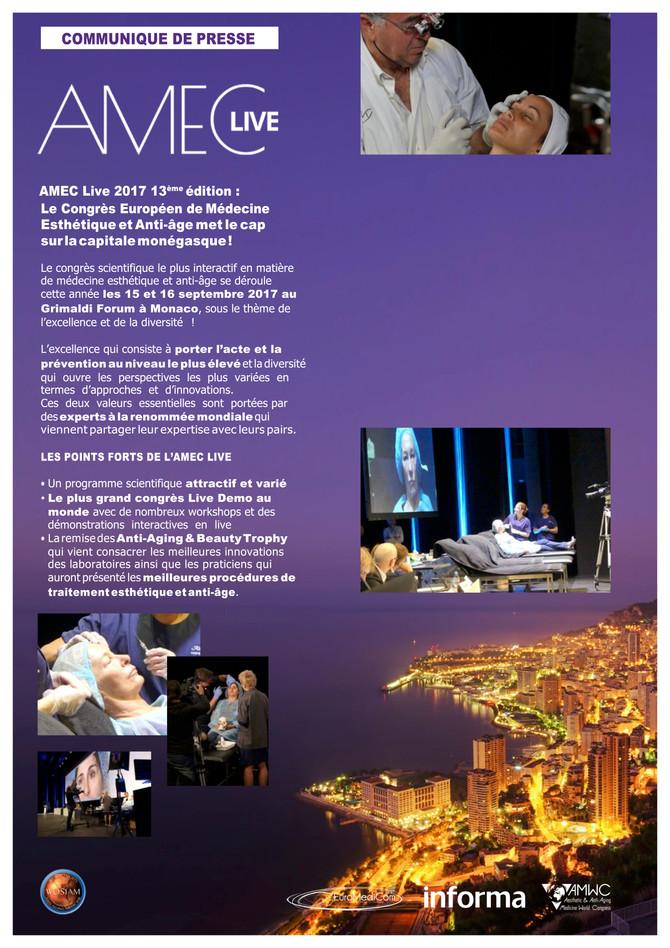 Communiqué de Presse AMEC & Trophy 2017 / Monaco