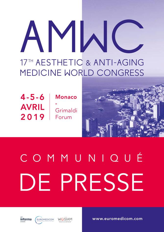 AMWC Communiqué de presse 2019