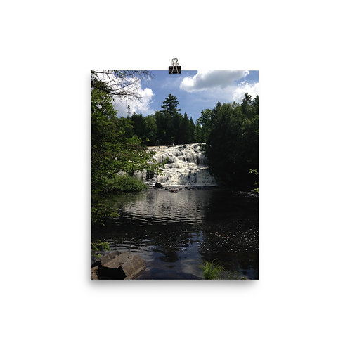 Waterfall Photo Paper Poster