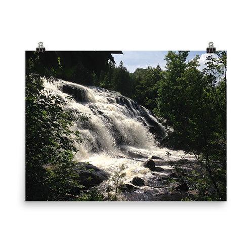 Waterfall Matte Poster