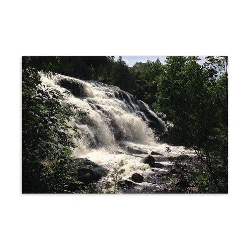 Waterfall Standard Postcard