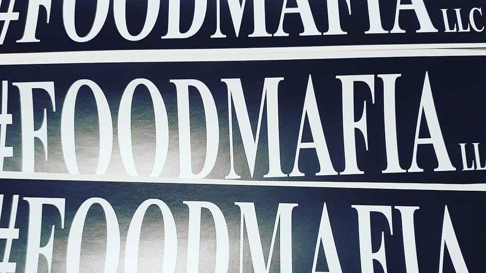 Food Mafia sticker