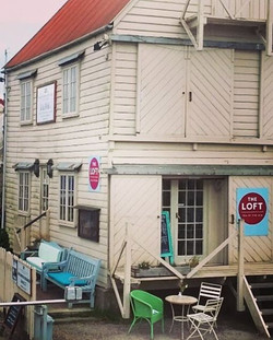 little pops of colour on a grey day! #tollesbury #essex #tearoom #saillofts