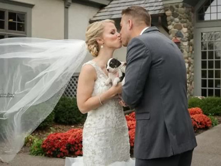 COUPLES ARE SWAPPING FLOWER BOUQUETS FOR PUPPIES AND THEY LOVE IT!