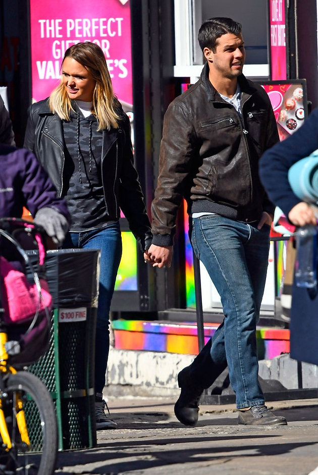 Miranda Lambert and Husband Brendan McLoughlin Hold Hands