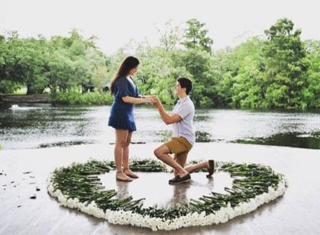Couple's Proposal Weathers the Storm Right Before Hurricane Barry Hits