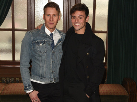 Tom Daley and Dustin Lance Black Marry in Castle Wedding: See the First Photo