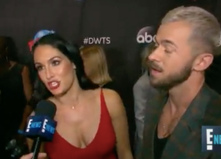 "Nikki Bella Wants Dancing With the Stars Partner Artem to Teach Her & John Cena Some ""Insan"
