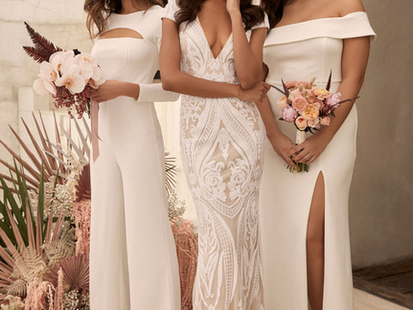 Exclusive: This Trendy Millennial Brand Debuts Size-Inclusive Wedding and Bridesmaid Dresses