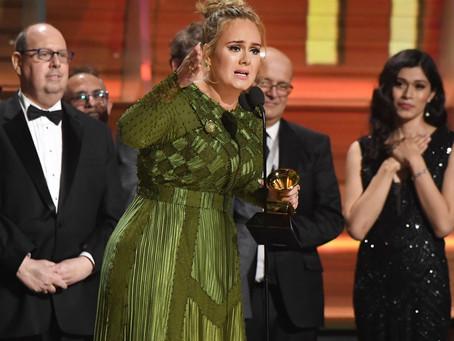 Adele Confirms Marriage to Simon Konecki in Emotional Beyonce-Filled Grammy Awards 2017 Speech