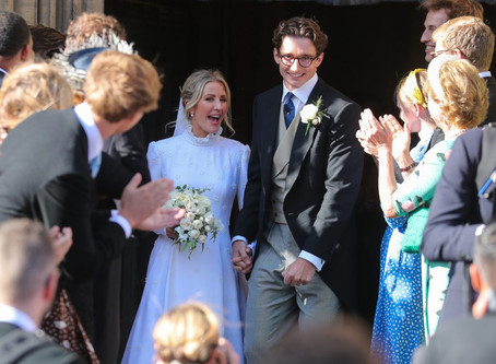 Ellie Goulding's Wedding Weekend Included 4 Outfit Changes