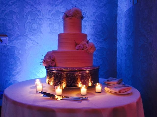 cake uplighting