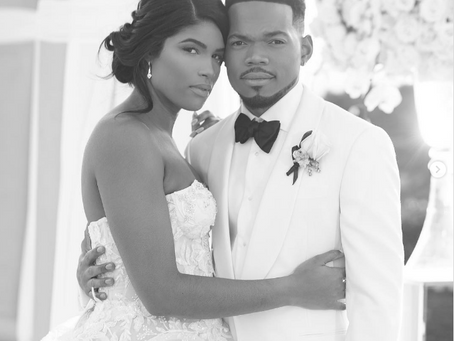Chance the Rapper's First Wedding Photos Are Here