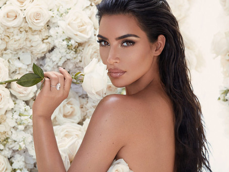 """Kim Kardashian's Bridal Beauty Collection Pays Tribute to the """"Happiest Day"""" of Her Life"""