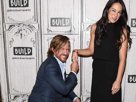 "Chip and Joanna Gaines on the Secret to a Successful Marriage: ""It's Hard Work"""