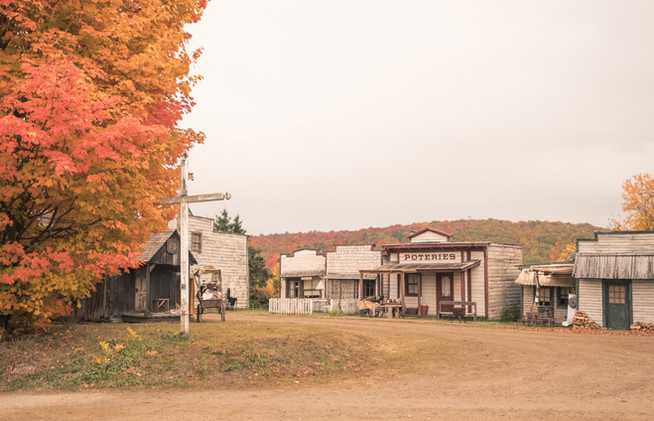 Le village en automne