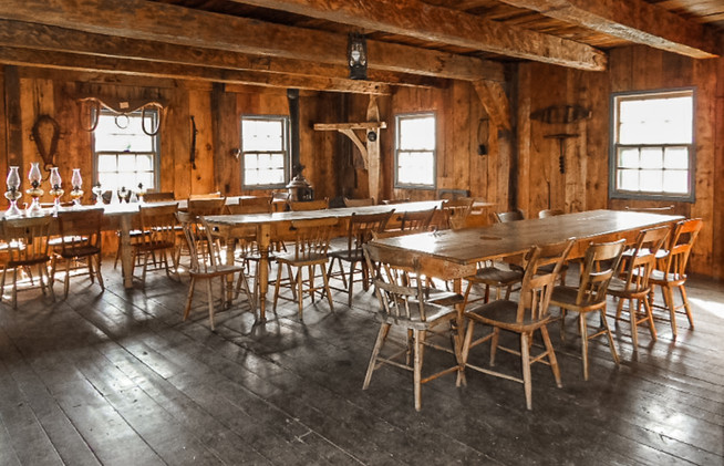 The mill cafeteria