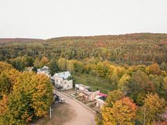 La rue principale du village Canadiana