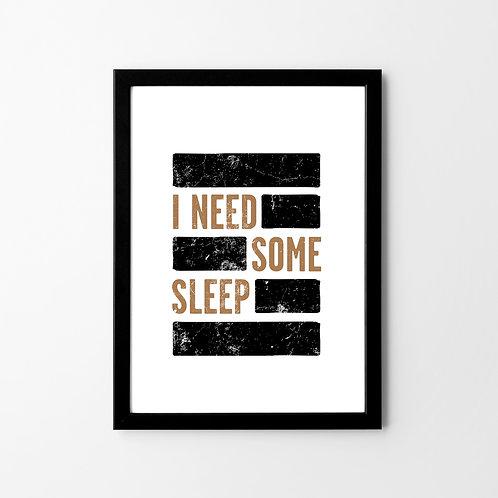 Some Sleep