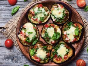 Eggplant Pizza Bites
