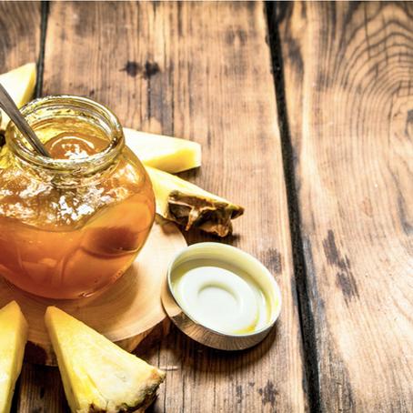 Healthy Pineapple Jam