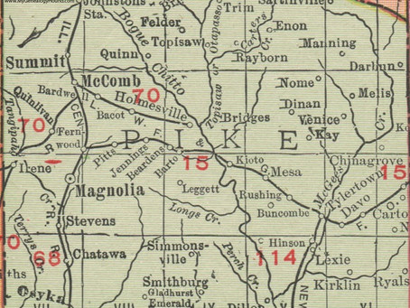 1918 Pike County, MS - Soil Survey