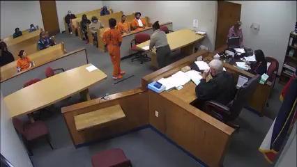 Judge Secures Courtroom