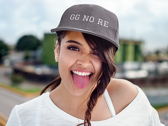 young-woman-making-a-funny-face-hat-mock