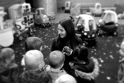 Katrien Debanene kinderen kids children storyteller verteller verhalenverteller