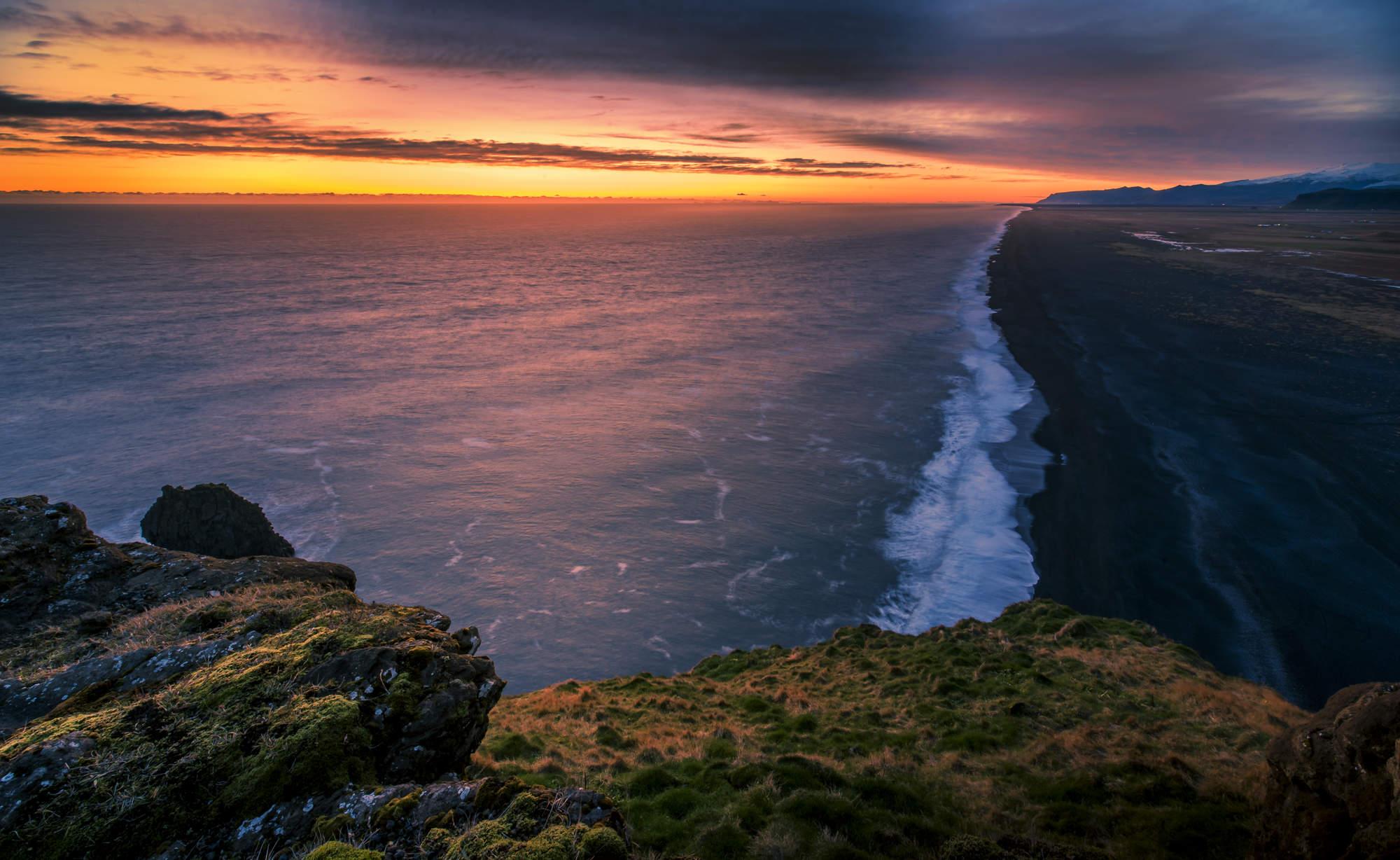 stock-photo-dyrholaey-lighthouse-iceland