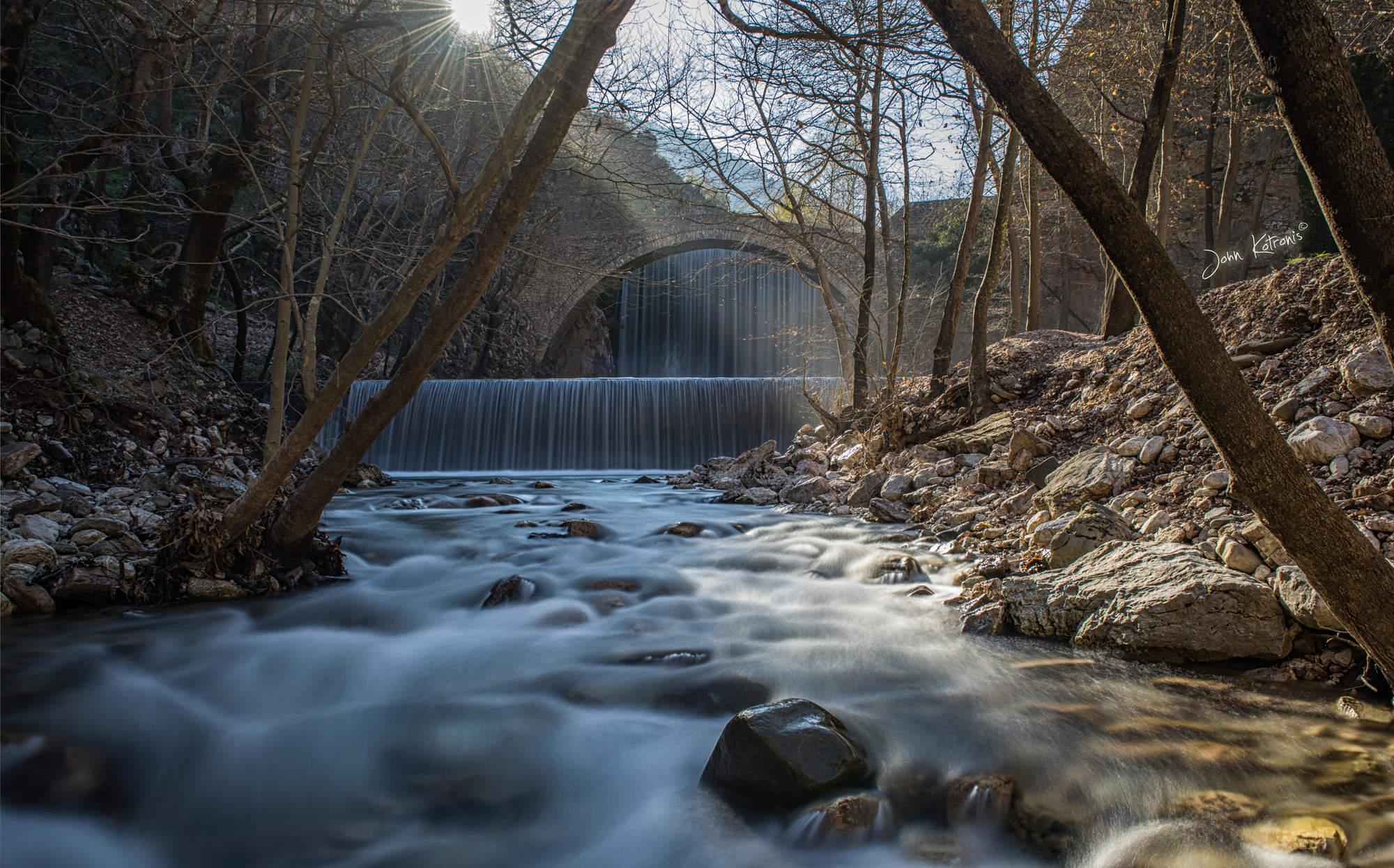 stock-photo-waterfall-palaiokarya-trikal