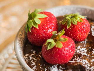 Healthy chocolate mousse!