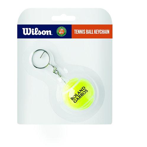 Roland Garros Tennisball-Schlüsselanhänger